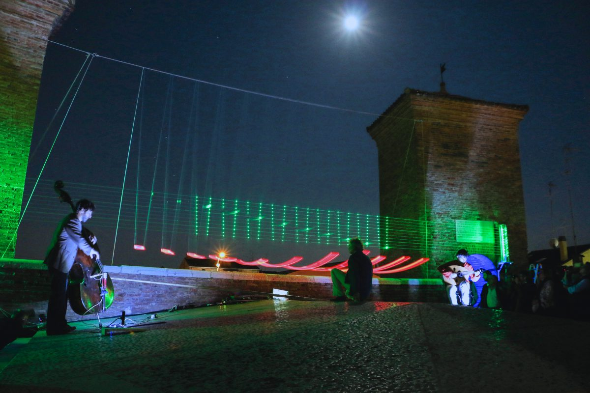 Laser Wave Pendulum a Cremona