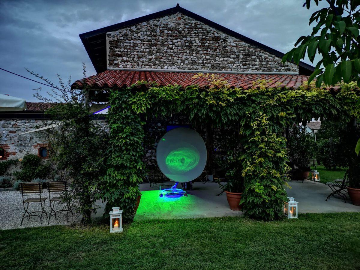 Sogno di acqua e luce a Udine