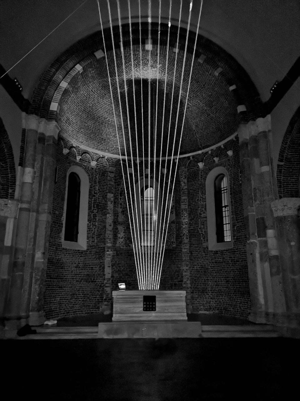 Arpa di Luce alla basilica di San Celso